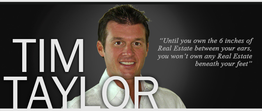 Tim Taylor Real Estate Success Coach